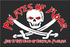 Pirates Of Moor Jeep & 4x4 Club of Central Florida logo