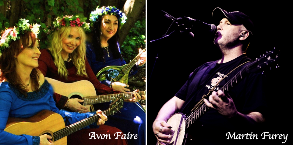 CANCELLED - ♫♬ Concert @ GA - Avon Faire and Irish singer Martin Furey - 11/2 ♫♬