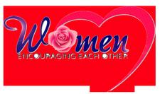 Women Encouraging Each Other logo