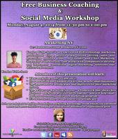 Free Business Coaching and Social Media Workshop