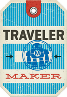 Traveler Entry Pass for World Maker Faire NYC 2014