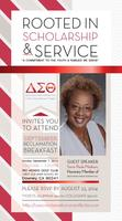 Delta Sigma Theta Sorority, Inc. Cerritos Area Alumnae...