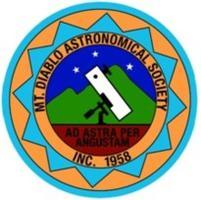 August 2nd. Public Astronomy Program On Mt Diablo