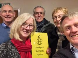 Stockport Amnesty Group Meeting Tickets, Thu 12 Sep 2019 at