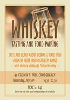 Whiskey Tasting and Food Pairing