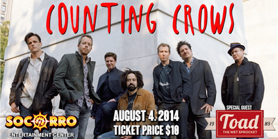 Counting Crows w/ Special Guest Toad the Wet Sprocket