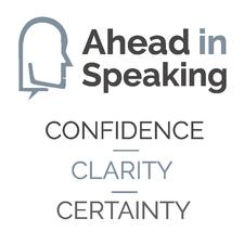 Ahead in Speaking logo