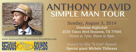 Anthony David's Simple Man Tour (A Live Acoustic...