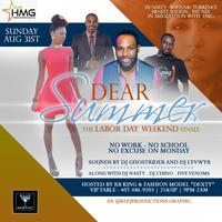 "Dear Summer ""The Labor Day Weekend"" Finale Sunday Aug..."