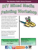 DIY Mixed Media Painting Workshop
