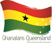 Ghanaians Queensland logo