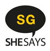 SheSays Singapore  logo