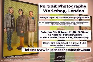 Portrait Photography Workshop & Gallery Tour