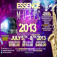 "Essence Music Festival tour 2013  ""THE PARTY WITH A PURPOSE"""