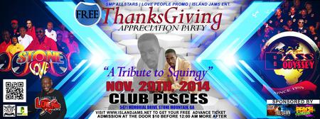 2014 THANKSGIVING APPRECIATION PARTY FT STONE LOVE /...