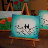 Mom's Night Out-Traveling ARTies-Painting Party