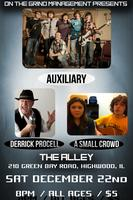 AUXILIARY & CHRISTIAN ECK - LIVE @ THE ALLEY (12/22)