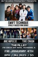 SWIFT TECHNIQUE & ARC IMPULSE - LIVE @ THE ALLEY...