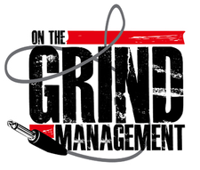 On The Grind Management Presents! logo