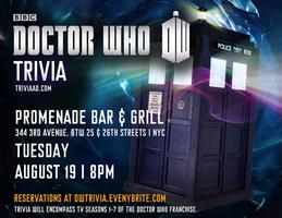 Doctor Who (TV) Trivia