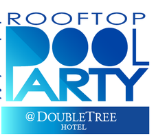 Rooftop Pool Party at The DoubleTree