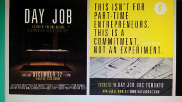 DAY JOB Start-up Documentary Screening at MakeWorks