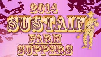 Waiting List for SUSTAIN Farm Supper. Tickets for September...