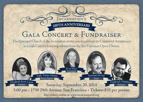 Incarnation's 100th Anniversary Gala Concert - Online...