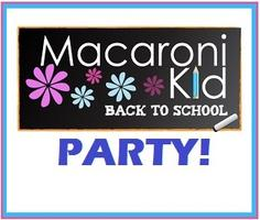 "Macaroni Kid Jefferson City ""Back to School"" Party"
