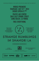 WORLD PREMIERE Strange Rumblings in Shangri - La