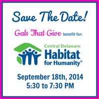Gals That Give Benefit for Central Delaware Habitat For...
