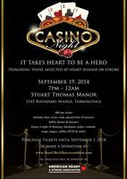 Heart to be a Hero Casino Night