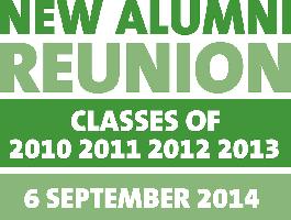New Alumni Reunion (NAR) 2014