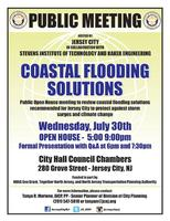 Jersey City Coastal Flooding Solutions