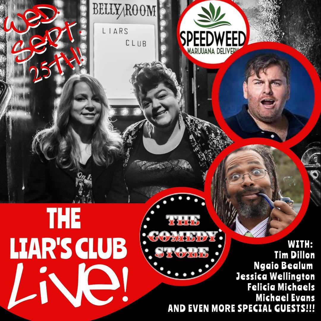 The Liar's Club w/Tim Dillon & Ngaio Bealum