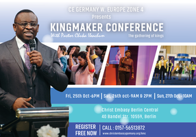 Kingmaker Conference 2019 Tickets, Fri, Oct 25, 2019 at 6:00