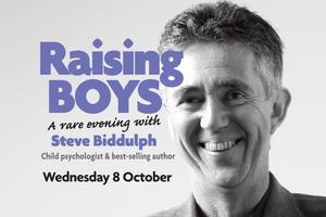 'Raising Boys' with Steve Biddulph