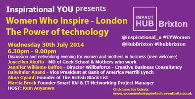 Women who inspire - The power of technology
