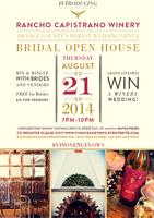 Rancho Capistrano Winery's Bridal Open House - OC's...