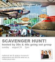 Scavenger Hunt at the Air & Space Museum! - 30s & 40s...