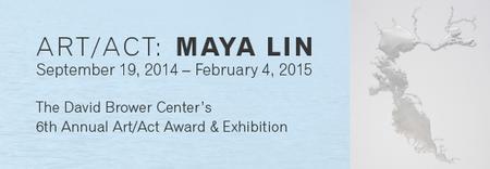 Opening Reception - Art/Act: Maya Lin