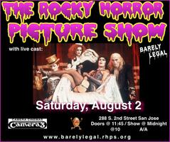 Rocky Horror Picture Show in San Jose. Saturday,...
