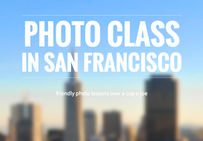 Friendly photo classes in SF