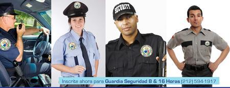 Curso Guardia de Seguridad 8/16 Horas