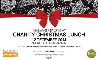 The Leasing Industry Charity Christmas Lunch