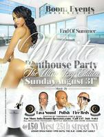 ALL WHITE PENTHOUSE PARTY