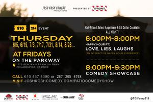 TGIFUNNY Patio On The Parkway Happy Hour & Comedy Show!
