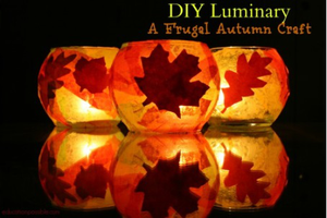 Autumn Luminary Craft for Children on September 20th...