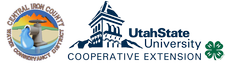 USU Iron County Extension & The Central Iron County Water Conservancy District logo