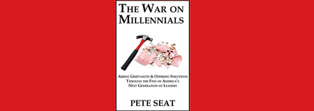 Pete Seat Book Signing - The War on Millennials